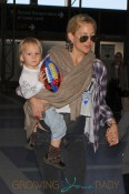 Kate Hudson and her excited looking sons, Ryder and Bingham, catch a flight out of Los Angeles