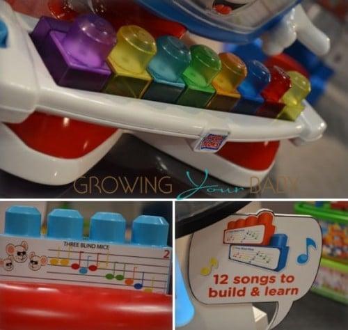 Mega Bloks 2013 Billy the piano
