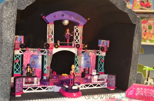 Mega Bloks Barbie Rock Stage front