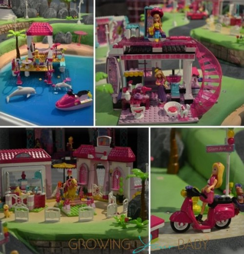 Mega Bloks Barbie collection 2013