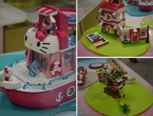 Mega Bloks Hello Kitty 2013