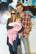 Mira Sorvino & Family Take A Vienna Vacation