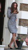 Catherine, Duchess of Cambridge leaves Hope House