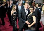 Pregnant Jenna Dewan & Channing Tatum Arrive At 85th Annual Academy Awards