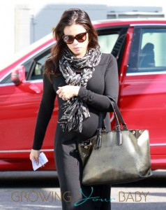 Pregnant Jenna Dewan Out And About In West Hollywood