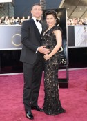 Pregnant Jenna Dewan and Channing Tatum red carpet at the 85th Annual Academy Awards