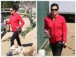 Pregnant Jenna Dewan hiking out in LA