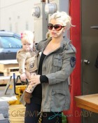 Jessica Simpson stops by Don Cuco restaurant with her family in Burbank, CA