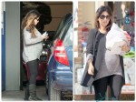 Pregnant Monica Cruz out in Madrid