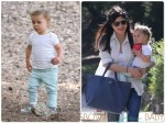 Selma Blair out at the Park with her son Arthur