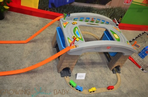 Step2 over and under train set 2013 Toy Fair