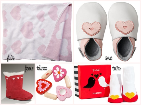 Valentines gifts for baby