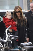 Victoria Beckham Takes Daughter Harper Shopping in Paris