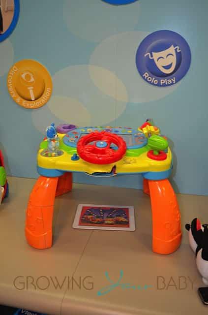 Vtech iDiscover App Activity Table Toy Fair 2013