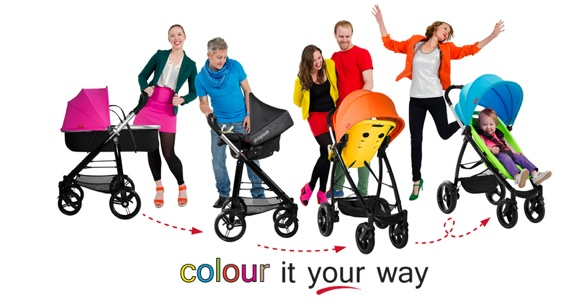 phil&teds Smart 'Color It Your Way' Stroller