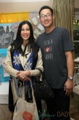 **EXCLUSIVE** A pregnant Lisa Ling attends Jayneoni's Boom Boom Room Gifting Suite at the Peninsula Hotel in Beverly Hills