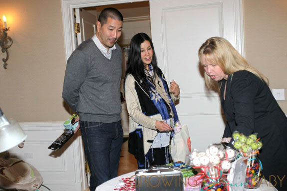 **EXCLUSIVE** A pregnant Lisa Ling and husband Paul Song attend Jayneoni's Boom Boom Room Gifting Suite at the Peninsula Hotel in Beverly Hills