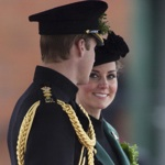 The Duke & Duchess of Cambridge Attend St Patrick's Day Parade in Aldershot