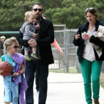 Ben & Jen Play At The Park With Their Kids