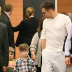 Ricky Martin Touches Down in Sydney With His Twins Valentino & Matteo
