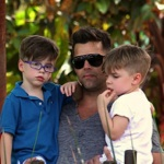 Ricky Martin & His Boys Visit The Taronga Zoo!