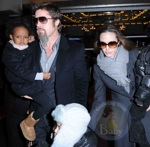 Angelina Jolie and Brad Pitt take kids to the Bway show of Mary Poppins
