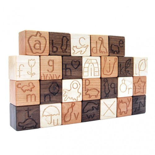Alphabet Sounds Blocks, Classic Educational ABC Toy