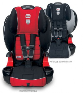 Britax Pinnacle 90 and Frontier 90