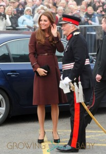 Catherine The Duchess Of Cambridge visits The National Fishing Heritage Centre in London