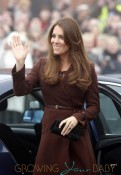 Catherine Duchess of Cambridge At The Fishing Heritage Center