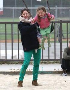 Ben & Jen Take The Kids To A Park