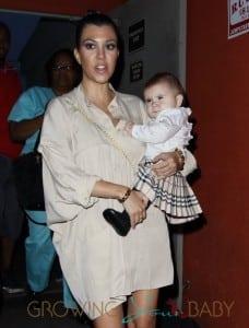 Kourtney Kardashian and daughter Penelope