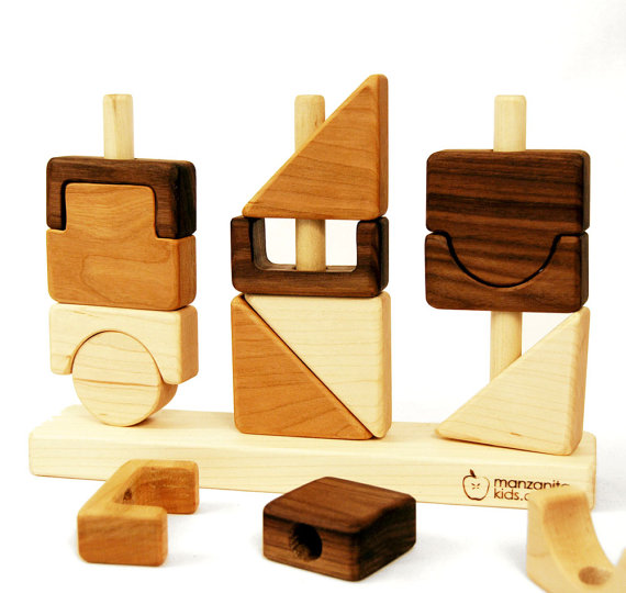 Stacking Toy Puzzles : Modular stacking block puzzle growing your baby