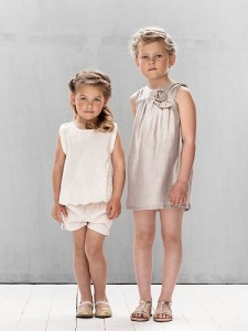 Pale Cloud Janice Dress, Lillie Top