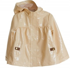 Pale Cloud Jean Raincoat