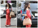 Pregnant Jenna Dewan Tatum grabs a smoothie in LA