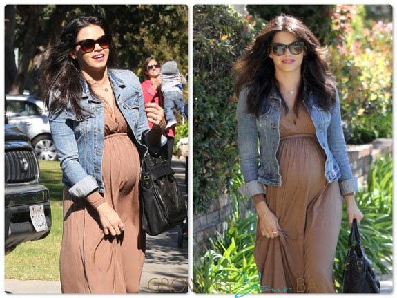 Pregnant Jenna Dewan Tatum out in LA
