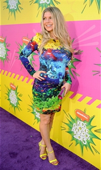 Pregnant Stacy Fergie Ferguson At The Kids Choice Awards