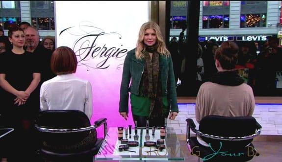 Fergie On GMA