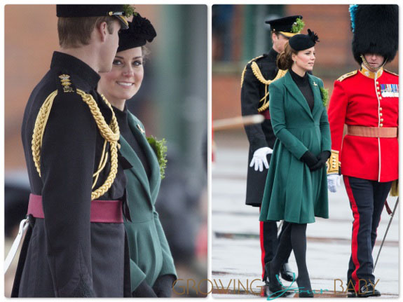 Prince William,Duke of Cambridge and Catherine, Duchess of Cambridge, Kate Middleton attend St Patrick's Day