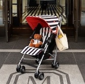 Maclaren Teams Up With The Mark Hotel To Create Custom Stroller For Visiting Families