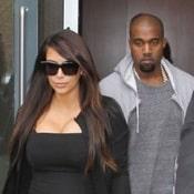 Kim Kardashian Re-Unites With Kanye West in NYC