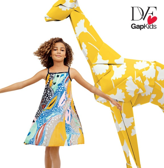 DVF baby collection GAP 4