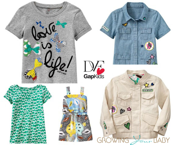 DVF for Gap Kids 2013