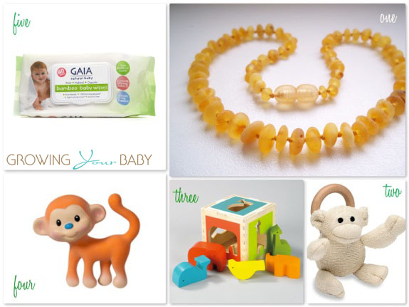 Eco-friendly baby items