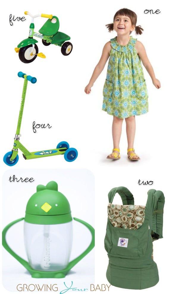 Emerald for kids Spring