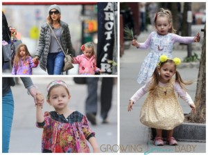 Fashionable Marion and Tabitha Broderick out in NYC