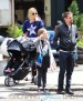Kate Hudson & Family Take A Stroll Through Tribeca