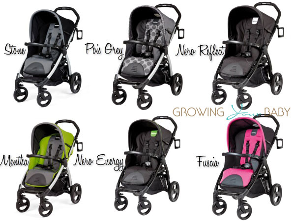 Peg Perego Book Stroller Color Choices