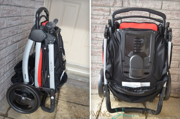 Peg Perego Book Stroller folded